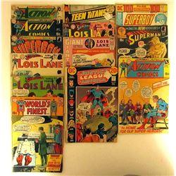 DC COMIC LOT: LOIS LANE, SUPER BOY,