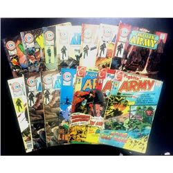 Charlton Comics Fightin' Army & Marines & War