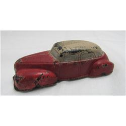 VINTAGE THE SUN RUBBER COMPANY MOLDED TOY CAR