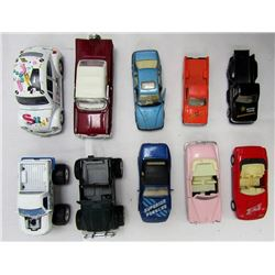 10-DIECAST TOY CAR LOT