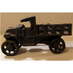 ANTIQUE CAST IRON FARM TRUCK