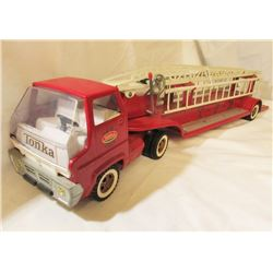 VINTAGE TONK TFD TOY LADDER FIRE TRUCK
