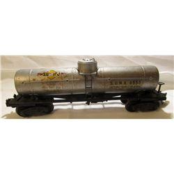 POSTWAR LIONEL TRAINS 6555 SUNOCO TANKER