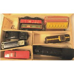 VINTAGE MARX STEAM TYPE ELECTRIC TRAIN SET-
