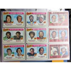 1977 TOPPS FOOTBALL NEAR COMPLETE SET
