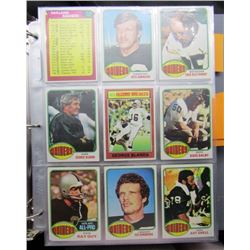1976 TOPPS FOOTBALL NEAR COMPLET SET (360 CDS)
