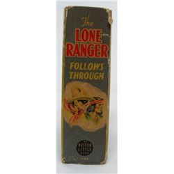 Vintage The Lone Ranger Follows Through The Better