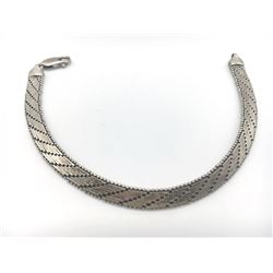 7 INCH ITALY STERLING BRACELET WITH GORGEOUS