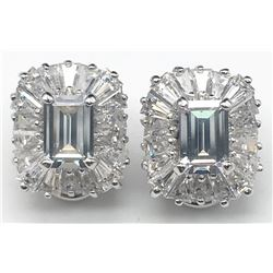 GORGEOUS PAID OF STERLING EARRINGS WITH