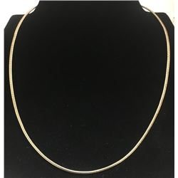 GOLD FILLED STERLING NECKLACE/CHAIN