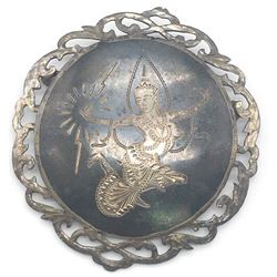 ANTIQUE SIAM BROOCH