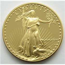 1987 1 Ounce Gold Eagle $50 Fifty Dollar