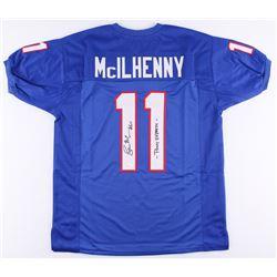 Lance McIlhenny Signed SMU Jersey Inscribed  Pony Express  (JSA COA)
