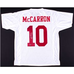 AJ McCarron Signed Alabama Jersey (Radtke COA)