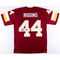 John Riggins Signed Redskins Jersey Inscribed  SB XVII MVP  (JSA COA)
