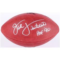 Jack Lambert Signed Super Bowl IX NFL Official Game Ball Inscribed  HOF 90  (JSA COA)