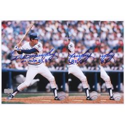 Lot of (3) Dale Murphy Signed Braves 8x10 Photos Inscribed  NL MVP 82, 83  (Radtke)