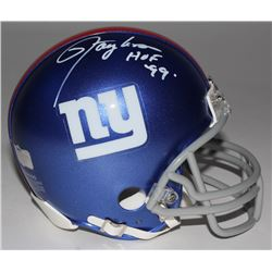 Lawrence Taylor Signed Giants Mini-Helmet Inscribed  HOF 99  (Radtke COA)