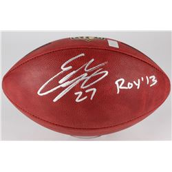"Eddie Lacy Signed ""The Duke"" Official NFL Game Ball Inscribed ""ROY '13"" (Lacy Hologram)"