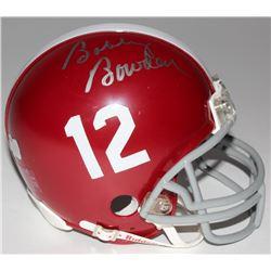Bobby Bowden Signed Alabama Crimson Tide Mini-Helmet (Radtke COA)