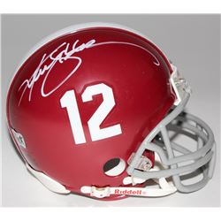 Ken Stabler Signed Alabama Mini Helmet (Radtke COA)