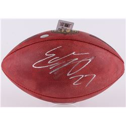 """Eddie Lacy Signed """"The Duke"""" NFL Official Game Ball (Lacy Hologram)"""