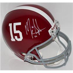Mark Ingram Signed Alabama Crimson Tide Full-Size Helmet (Ingram Hologram)