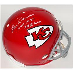"Len Dawson Signed Chiefs Full-Size Authentic On-Field Helmet Inscribed ""HOF 1987""  ""SB IV MVP"" (JSA"