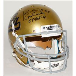 "Kenny Easley Signed UCLA Bruins Full-Size Helmet Inscribed ""CFHOF '91"" (JSA COA)"