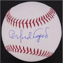 Orlando Cepeda Signed OML Baseball (MLB Hologram)