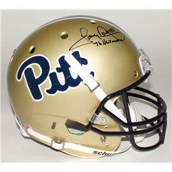 "Tony Dorsett Signed Pittsburgh Panthers Full-Size Helmet Inscribed ""76 Heisman"" (JSA COA)"