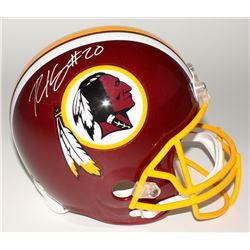Robert Kelley Signed Redskins Full-Size Helmet (JSA COA)