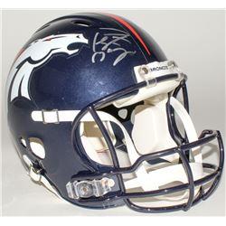 Peyton Manning Signed Broncos Full-Size Authentic Helmet (Fanatics Hologram)
