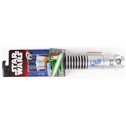Mark Hamill Signed Star Wars  Luke Skywalker  Green Lightsaber (Radtke COA)