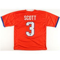 Artavis Scott Signed Clemson Tigers Jersey (Radtke COA)