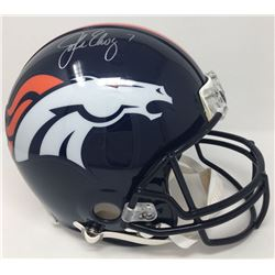 John Elway Signed Broncos Full-Size Authentic On-Field Helmet (Steiner COA)