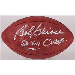 "Bob Griese Signed NFL Football Inscribed ""SB VII Champs!"" (JSA Hologram)"