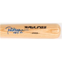 "Rod Carew Signed Rawlings Pro Baseball Bat Inscribed ""HOF 91"" (MLB Hologram)"