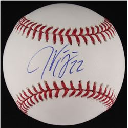 Jason Kipnis Signed OML Baseball (MLB Hologram)