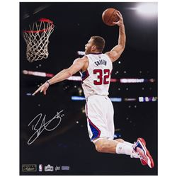 "Blake Griffin Signed Clippers ""Authority"" 16x20 Photo (Panini COA)"