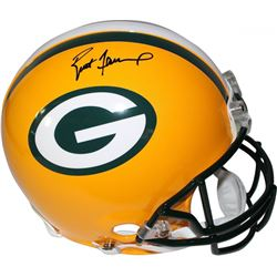 Brett Favre Signed Packers Full-Size Authentic On-Field Helmet (Steiner Hologram  Favre Hologram)