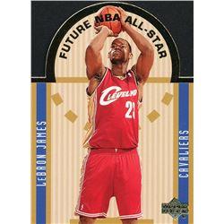 2003-04 Upper Deck SE Die Cut Future All-Stars #E15 LeBron James
