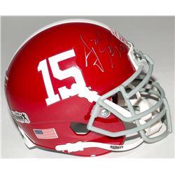 A.J. McCarron Signed Alabama Crimson Tide 2012 National Champions Mini-Helmet (Radtke COA)