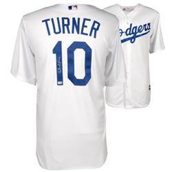 Justin Turner Signed Los Angeles Dodgers Jersey (Fanatics Hologram  MLB Hologram)