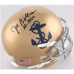 "Joe Bellino Signed Navy Midshipmen Mini-Helmet Inscribed ""H-1960"" (Radtke COA)"
