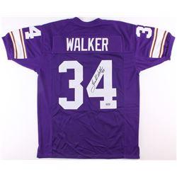 Herschel Walker Signed Vikings Jersey (Radtke COA)