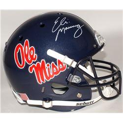 Eli Manning Signed Ole Miss Full-Size Helmet (Steiner COA)