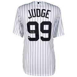 Aaron Judge Signed Yankees Jersey (Fanatics Hologram)