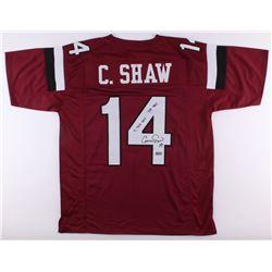 "Connor Shaw Signed South Carolina Gamecocks Jersey Inscribed ""7,766 YDS""  ""74 TDS"" (Radkte COA)"