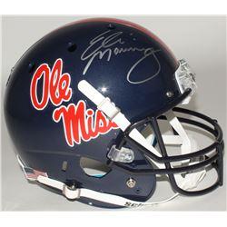 Eli Manning Signed Ole Miss Rebels Full-Size Helmet (Steiner COA)